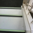 Scone Racecourse ecoglo F9171 stair nosings and Ivory Peel & Bond Tactiles