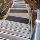 Ecoglo F4-171 stair nosing at Cremorne Reserve
