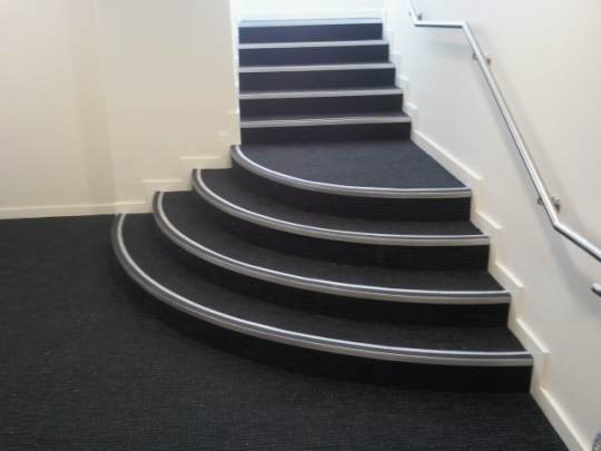 Luxury Vinyl Plank Stair Nose Installation