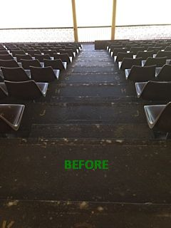 Scg Keeps Rolling Out Ecoglo Stair Nosings Amp Aisle Markers
